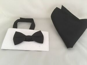 /</< NEW />/> Dusky Pink Polyester BOYS Ready Pre-tied Bow tie /> P/&P 2UK /> 1st Class