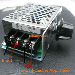 4000w Ac 110v 120v Scr Voltage Adjustable Regulator Motor