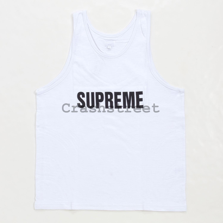Supreme SS14 Marathon Box Logo Tank Top Tee