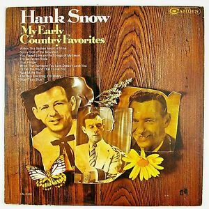 HANK-SNOW-My-Early-Country-Favorites-LP-VG-NM