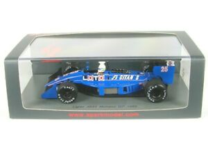 LIGIER-js31-No-25-Monaco-GP-FORMULA-1-1988-rene-arnoux