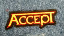 ACCEPT Embroidered Patch USA Seller Fast Delivery!