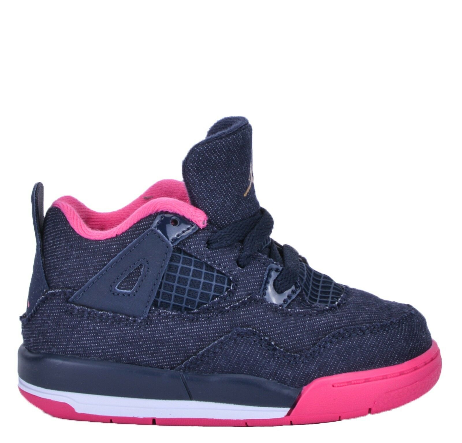 a8a782ca0a4136 ... shop size 6c toddler infants nike air jordan retro 4 denim pink  athletic 705345 fa4e2 bb634 ...