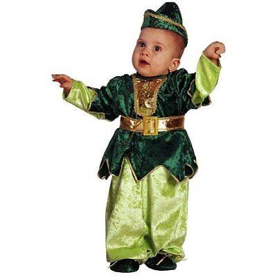 Vestito Costume Carnevale Baby Peter Pan 0 1 2 Anni 12 18 24 Mesi Aroma Fragrante