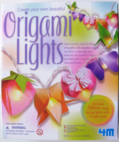 BRAND NEW /& SEALED!! CREATE YOUR OWN STRING OF ORIGAMI LIGHTS