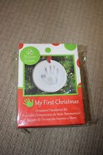 BRAND NEW Blooms and Buds 3D Handprint Kit Baby's First Christmas Ornament
