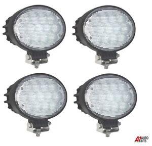 8 X 10-30V 4 LED WORK FLOOD BEAM LAMPS LIGHTS JOHN DEERE VALTRA FENDT TRACTOR