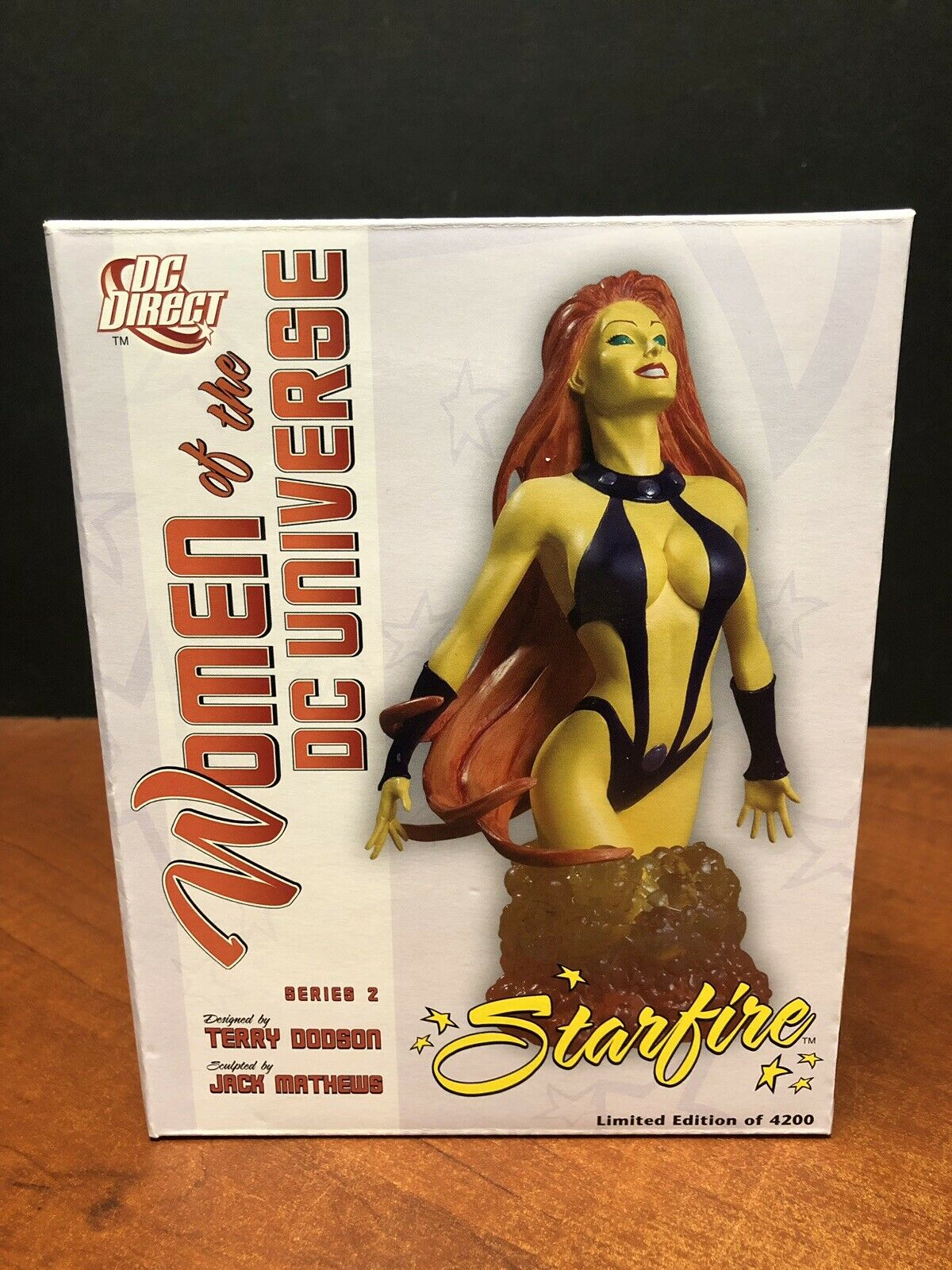 DC Direct damen Of The Universe Starfire Bust TAMP0320
