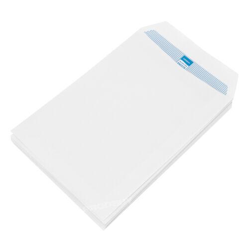 200 C5 Enveloppes Blanc Uni 90gsm Self Seal Home Office A5 Lettre Enveloppe Pack