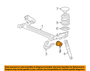 image is loading chevrolet-gm-oem-08-11-hhr-rear-suspension-
