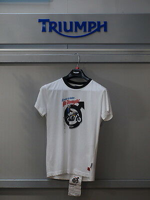 GENUINE Triumph Motorcycles Ladies Life Needs More T Shirt  BNWT 99P