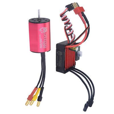 2435 4800KV Sensorless Brushless Motor 4P 25A ESC For 1//16 1//18 Brushless Cars