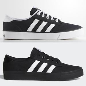 adidas Originals Kiel Mens Skateboarding Trainers Black ...