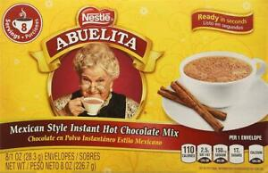 Abuelita Mexican Style Instant Hot Chocolate Mix 8-1 Oz. Packets (2 Packs)