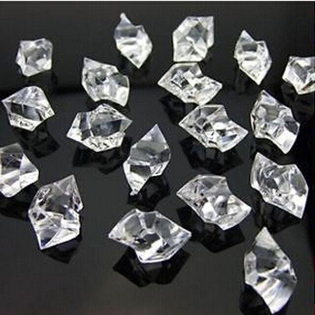 1000 Clear Acrylic Gems Ice Rocks For Table Scatter Vase Filler