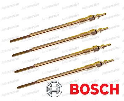 Citroen Xsara 1.9 D Set 4 X Bosch Diesel Heater Candeletta 98-03 Pezzo Di Ricambio-