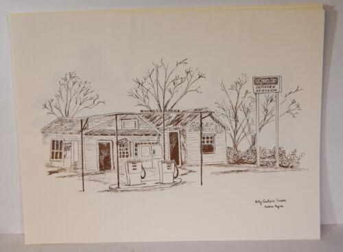 Set 5 Prints Barbara Rogers Plains GA Depot Baptist Church School Billy Carter