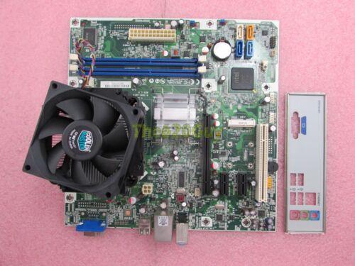Pentium DC E5400 2.7GHz CPU HP Eton 582679-001 H-IG41-uATX Motherboard I//O
