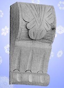 Möbelschnecke Linde 40x125mm Schrank Kommoden Ornament Gründer Restaurierungsbed Wohltuend FüR Das Sperma Nähen Antiquitäten & Kunst