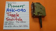 PIONEER ASK-090 TOGGLE SWITCH SX-650 THRU SX-1250 SA-7500 SA-8500 TX-9500