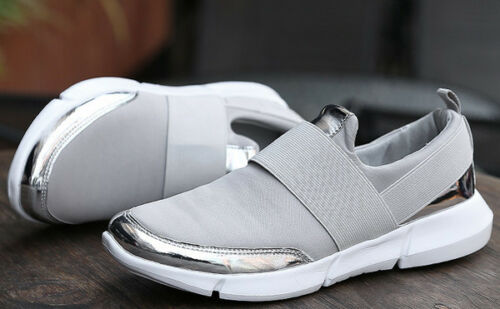 Donna Cw843 Sneaker Grigio Comode Scarpe Sportive Basse Ginnastica Silver TqFxxUwZE