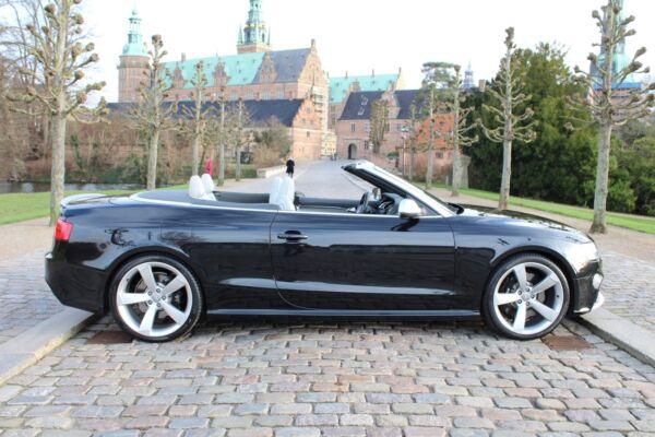 Audi RS5 4,2 FSi Cabriolet quattro S-tr. - billede 1