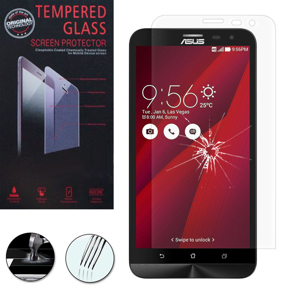 Safety Glass For Asus Zenfone 2 Laser Ze600kl Ze601kl Genuine Screen Tempered Protection 55 Norton Secured Powered By Verisign