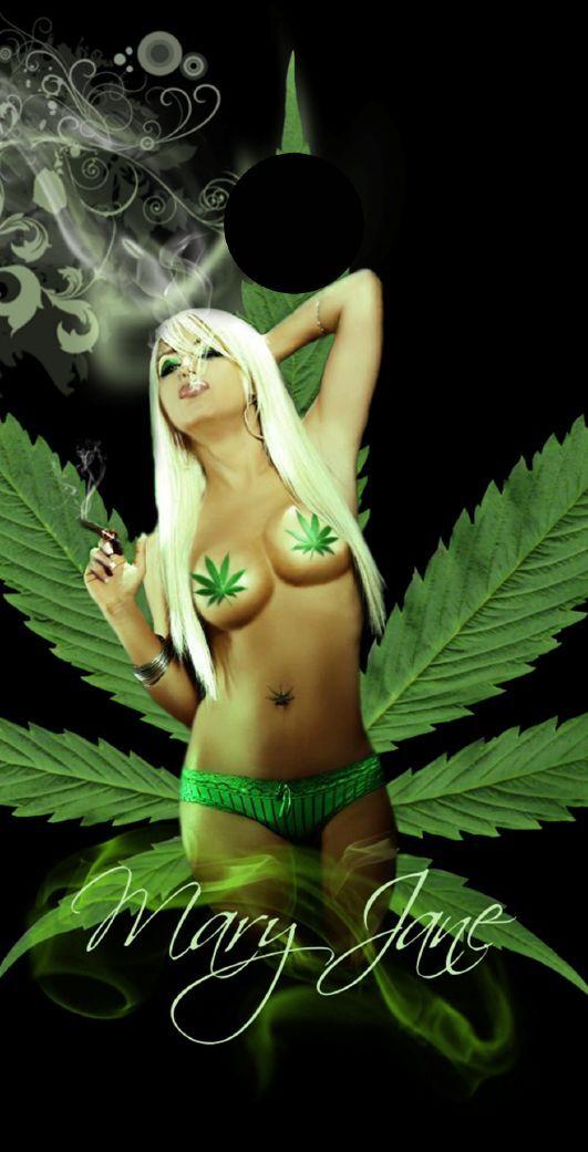 Mary Jane Marijuana Themed Cornhole Board Prints   Wraps   Corn Hole