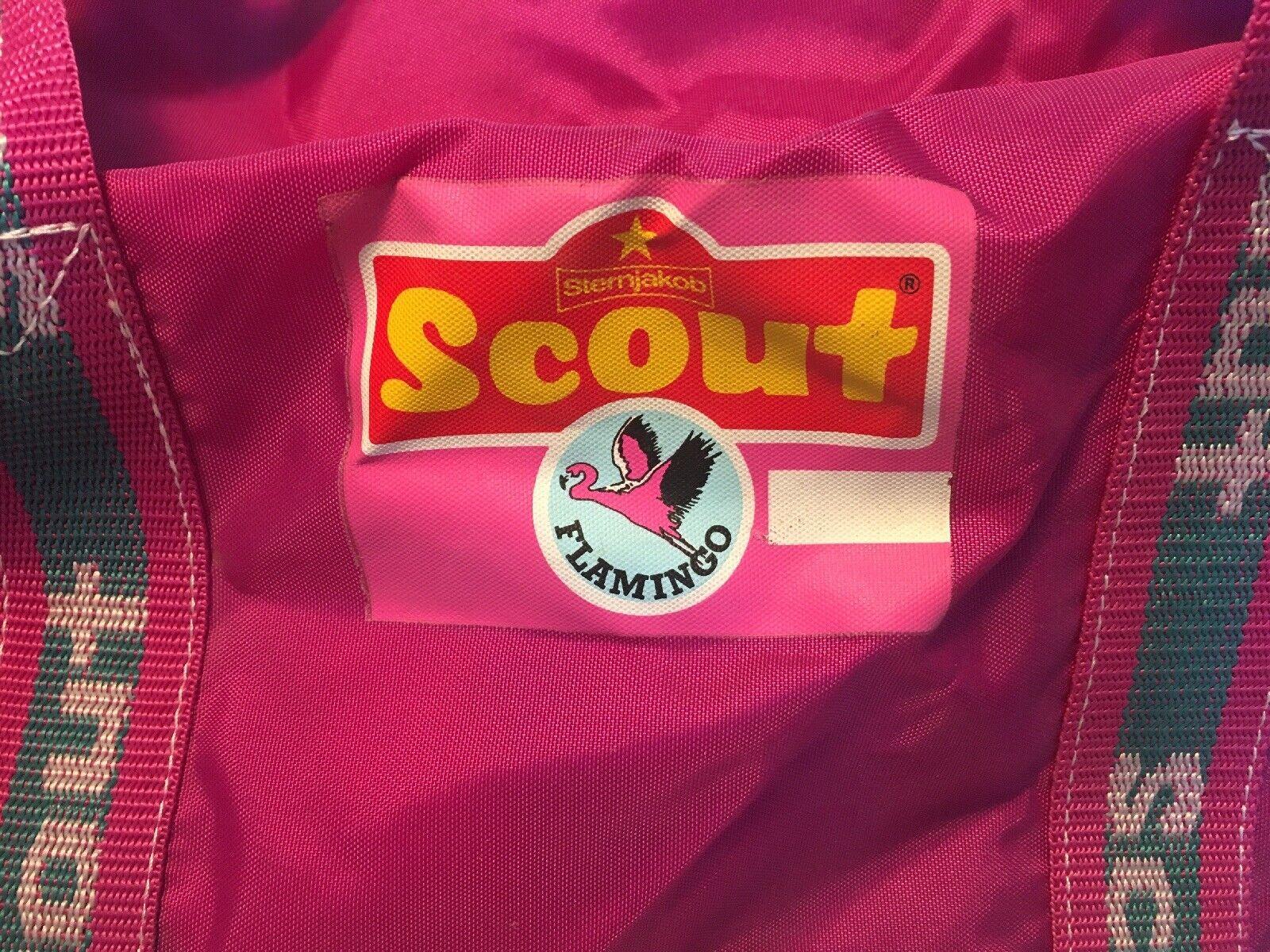 ♥︎ Scout Retro vintage 80er Flamingo Tasche NEU ♥︎ | Modern Und Elegant  | Zu einem erschwinglichen Preis  | Outlet Store Online
