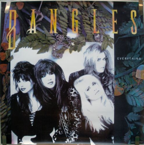RARE THE BANGLES EVERYTHING 1988 VINTAGE ORIG MUSIC RECORD STORE PROMO POSTER