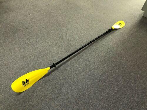 Yellow Bending Branches Kayak Paddle