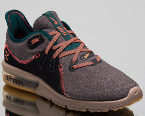 fe47242c344b9 Nike Air Max Sequent 3 Premium V Women Shoes Oil Grey Running Shoes ...