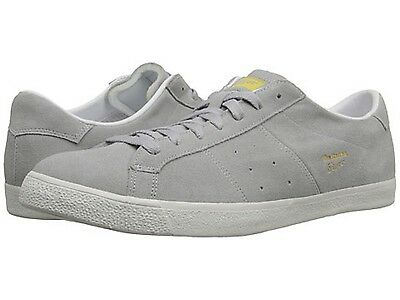 ONITSUKA TIGER D605L.1313 LAWNSHIP Mn's (M) Light Grey Leather Lifestyle Shoes