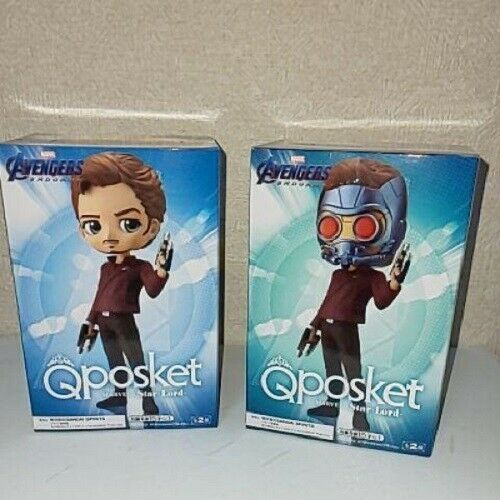 Marvel Star Lord Q Posket Figure Guardians of the Galaxy Banpresto Both Versions