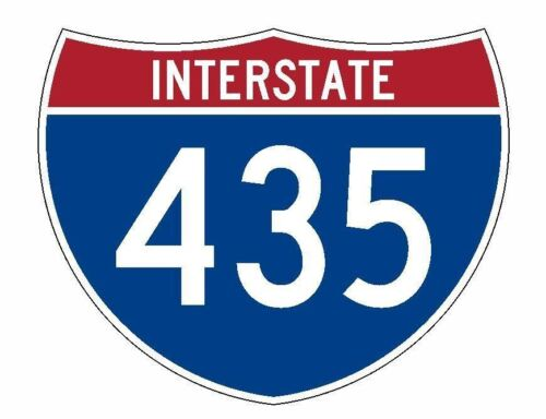 Multiple sizes to choose from***** *****Interstate 435 Vinyl Decal sign --