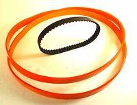 Set Of 2 Urethane Band Saw Tires & Drive Belt For Ryobi Model Bs901 Usa Made