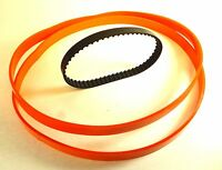 Set Of 2 Urethane Band Saw Tires & Drive Belt For Ryobi Model Bs901 Usa Made