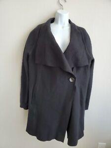 629-NWT-OSKA-Jacke-Alba-Black-Jacket-Size-4-One-Side-Button