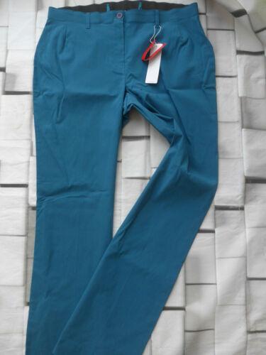 752 425 Sheego Bengalin Pantalon Strechhose Taille 44 Long 58 Long Taille Petrol 454