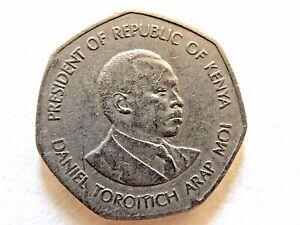 1985-Republica-de-Kenya-Cinco-5-Chelines-Moneda
