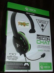Turtle-Beach-Recon-Chat-Headset-Black-Green-Xbox-One-PS4-and-PS4-Pro-More