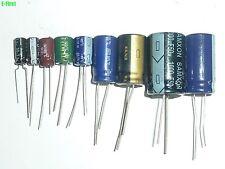 10Value 90pcs 50V Radial Electrolytic Capacitor Assortment Kit All Brand