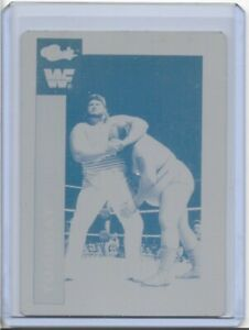 1-1-TUGBOAT-1991-CLASSIC-CARD-PRINTING-PRESS-PLATE-WWF-VINTAGE-WRESTLING-1-of-1