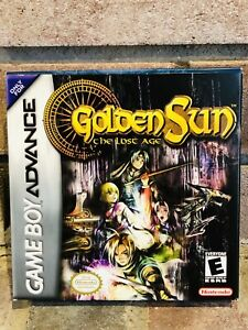 Details about Golden Sun The Lost Age MINT Gameboy Advance GBA Complete W  Booklets and MAP