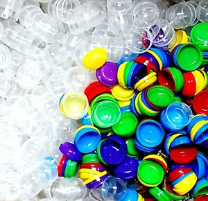 36 pcs 5cm EMPTY Capsule for GUMBALL vending machine Party Favors gadget gift