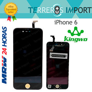 Pantalla-iPhone-6-Kingwo-Premium-Display-LCD-4-7-034-Negro-Frontal-Completo