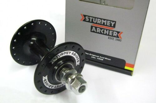 NEW Sturmey Archer High Flange Front Hub 32 hole HBT30