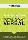 Total GMAT Verbal by Jeff Sackmann (Paperback / softback, 2011)
