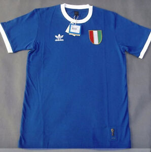 Adidas world cup italy national team ringer t shirt 739866 for Adidas ringer t shirt