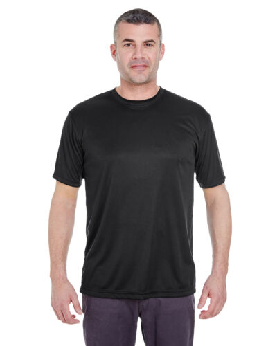 8620 Ultra Club Mens Cool /& Dry Basic Performance T Shirt Moisture Wicking Tee